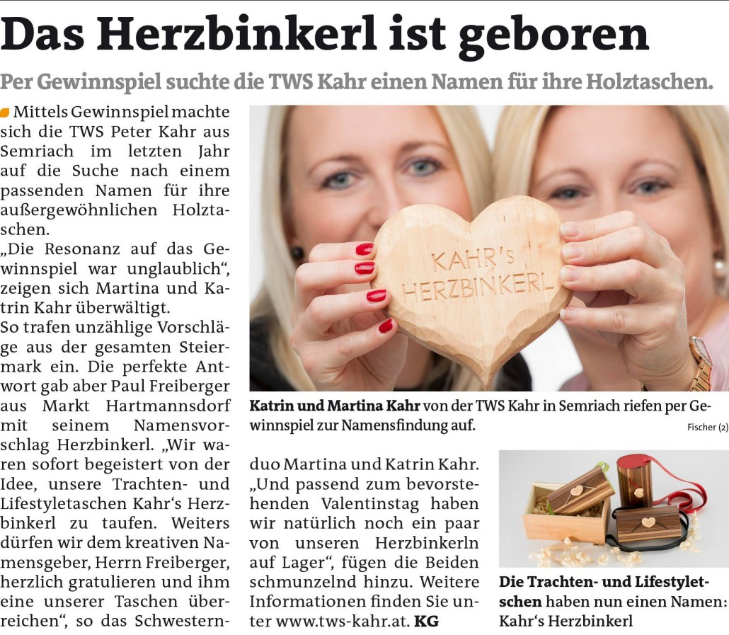 Woche GU Nord_Herzbinkerl Beitrag vom 11.02.2015